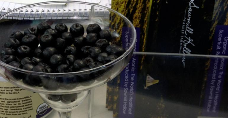 This Iowa farm reintroduced aronia berries a superfruit higher ORAC than acai back to its native North America Along with other local superfruits like blueberries and tart cherries expect to see aronia popping up in health foods overtaking acai and other exotics