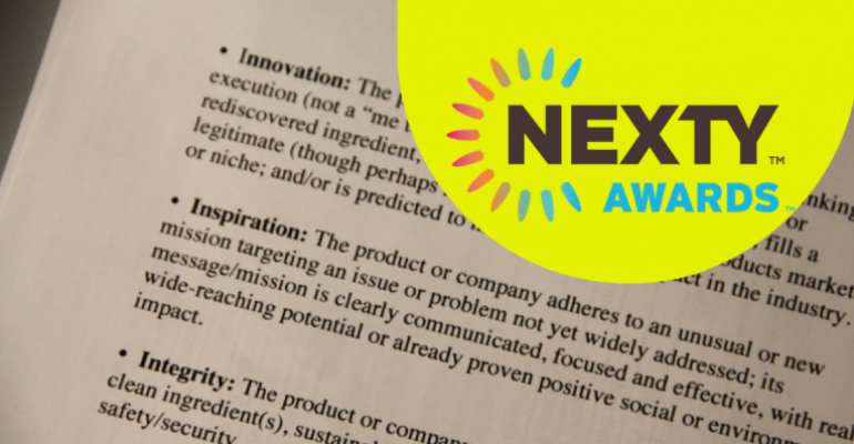 See how editors and guest judges selected the newest batch of NEXTY Award winners to be revealed Saturday, March 12, at Natural Products Expo West