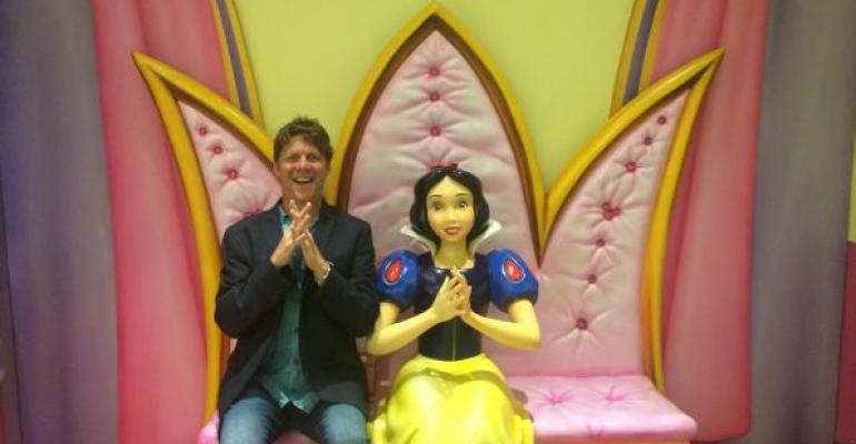 Todd Runestad and Snow White