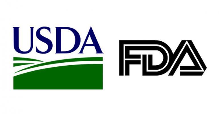 USDA FDA logos