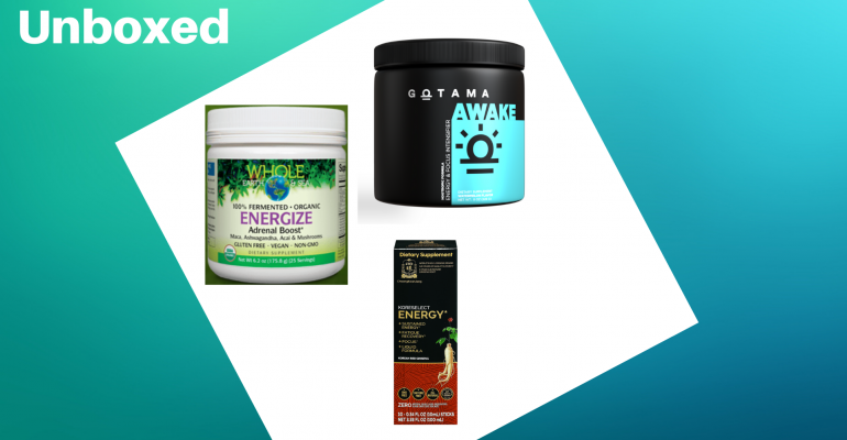 Unboxed energy supplements 2021