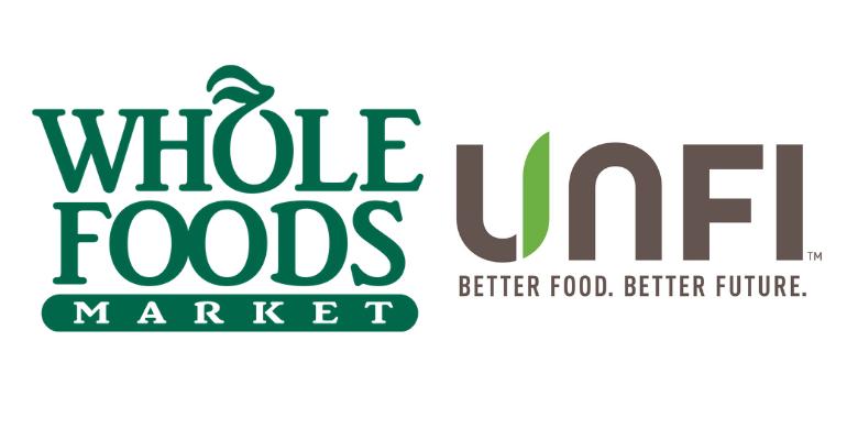 whole foods unfi logos