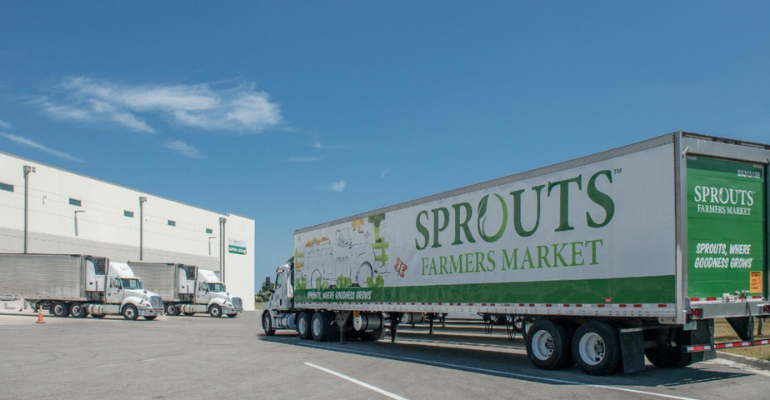 sprouts news distribution center truck