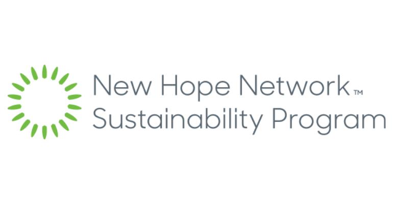 new hope network sustainability program logo