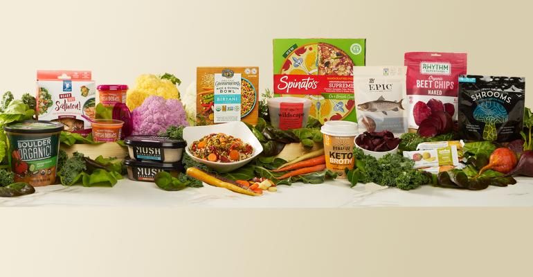 fresh healthy foods snacks refrigerated frozen