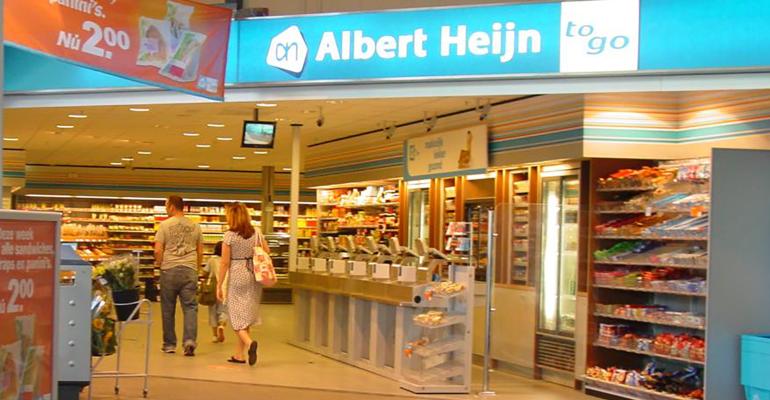 Albert Heijn cashierless store
