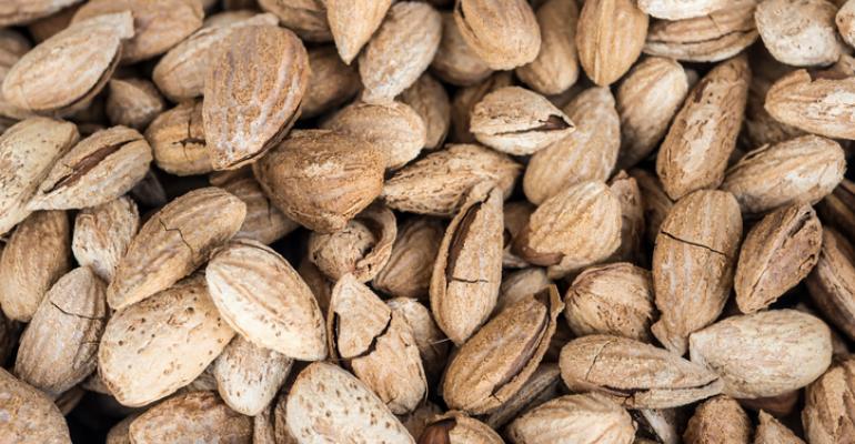 upcycling almond shells