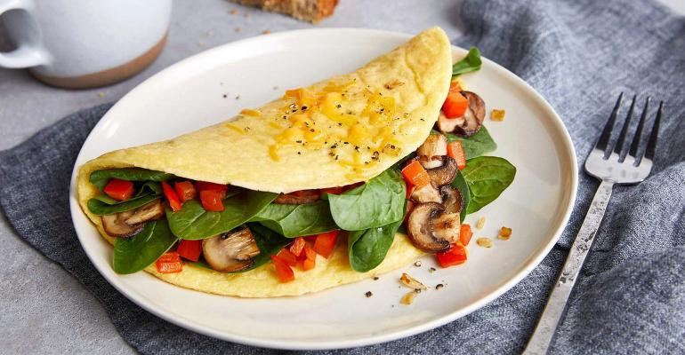 alternative egg baking cooking eat alone just egg omelet
