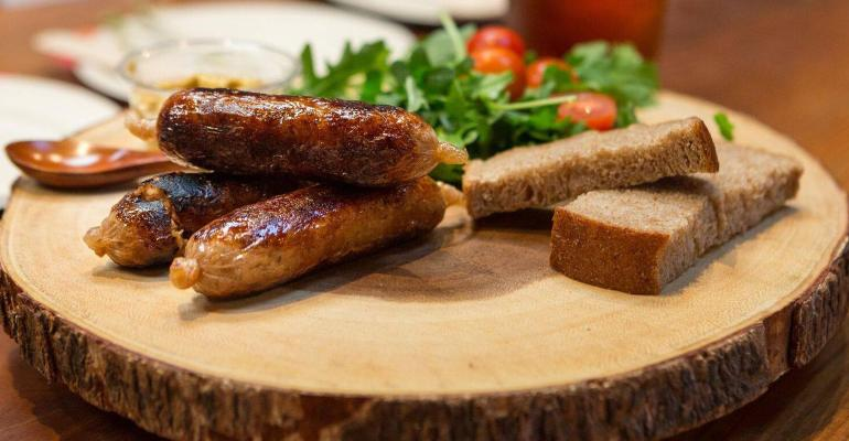 alternative meat brands innovations heading to market alt-meat sausage