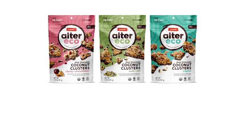 Alter Eco coconut clusters