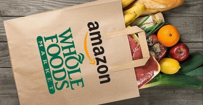 Amazon Whole Foods Market shopping bag