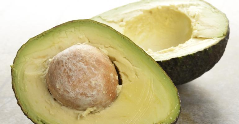 how to cut open an avocado seed