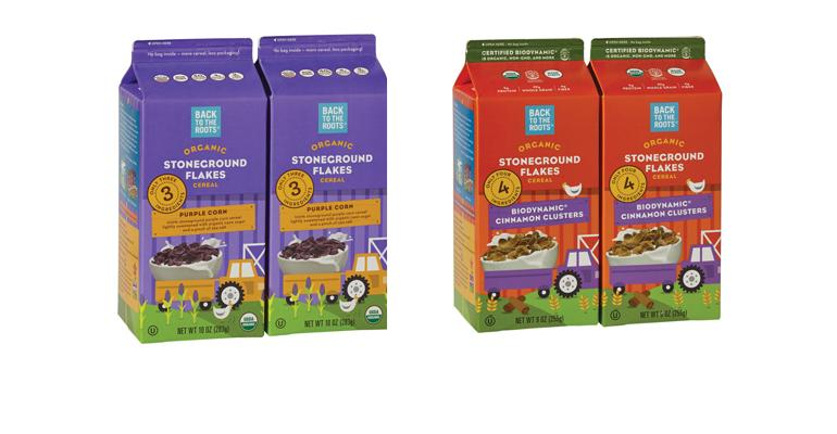 Back to the Roots organic cereals