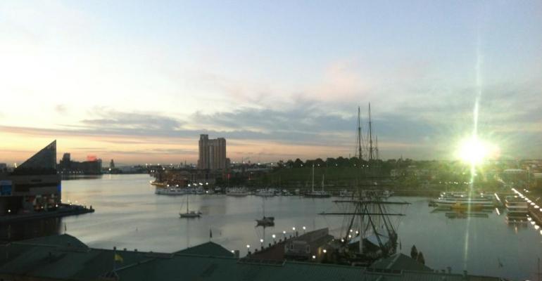 Baltimore sunrise