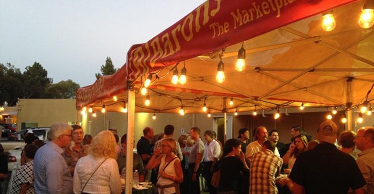Baron's Market beer pairing event