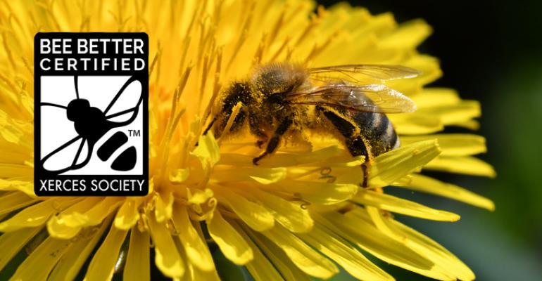 pollinator-friendly foods seal