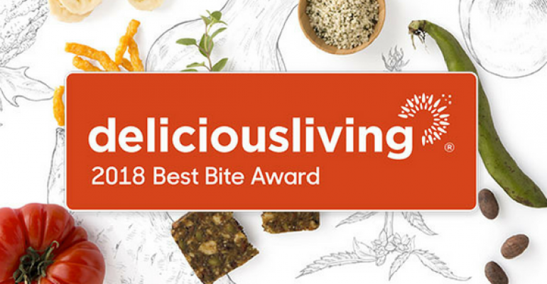 Delicious Living 2018 Best Bite Awards