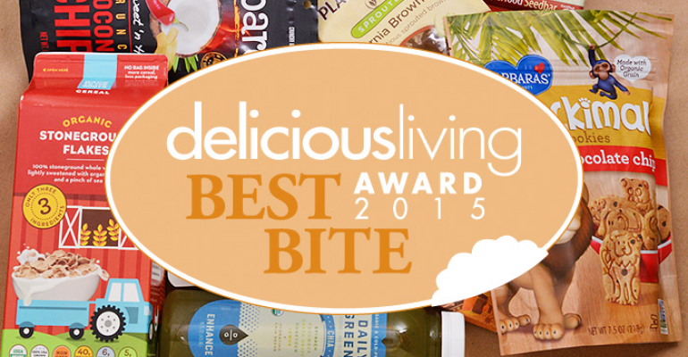 Delicious Living's 2015 Best Bite Awards winners