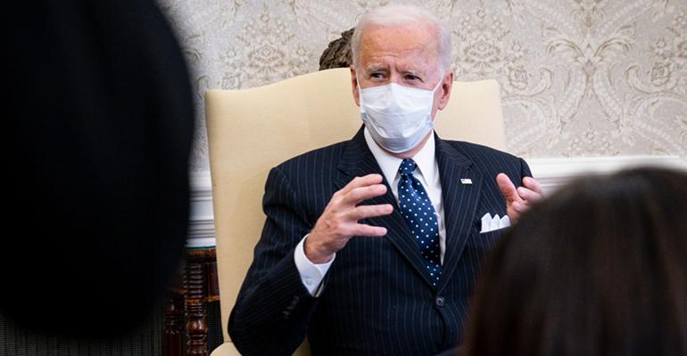 biden face mask president