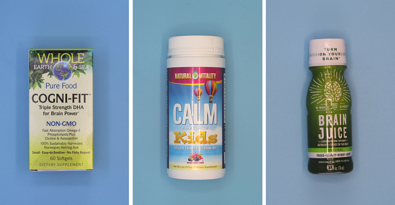 Cogni-Fit, Calm Kids, Brain Juice supplements