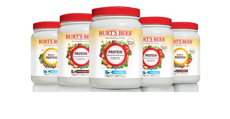 Burt's Bees protein shake