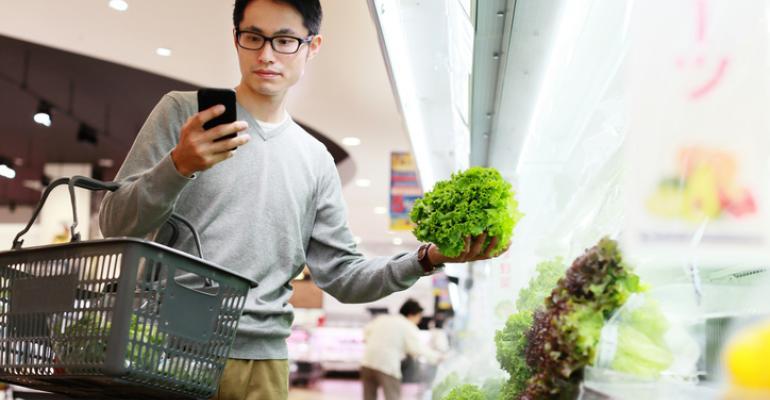 buying groceries online