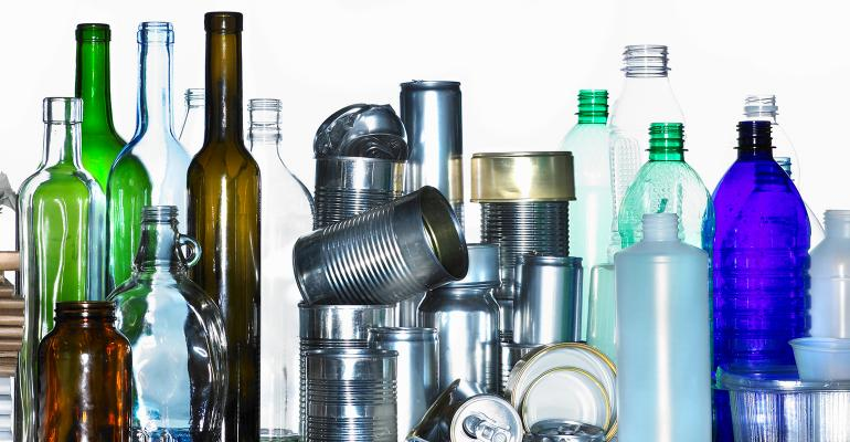 cans bottles and glass packaging chemicals