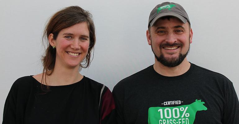 Caroline MacGill of Armonia and Tim Joseph of Maple Hill Creamery