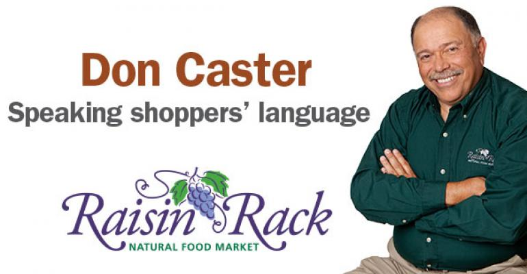 Don Caster of Raisin Rack