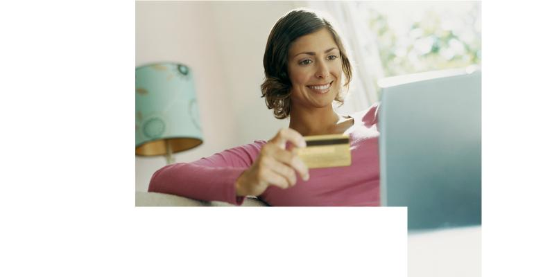 woman-using-bank-card-online