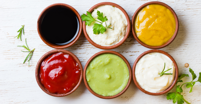 house-made condiments