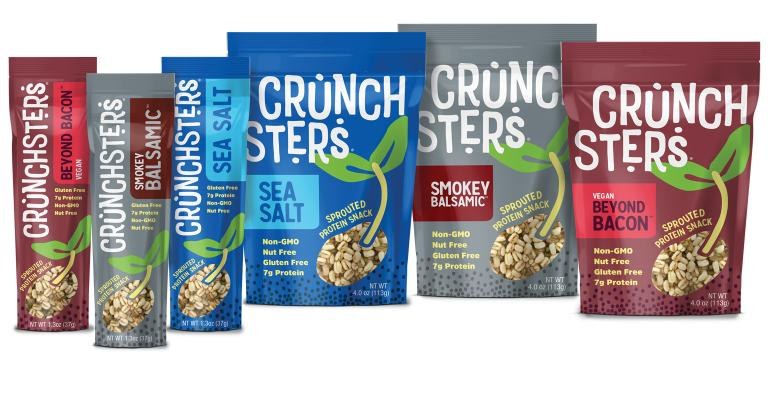 crunchsters sprouted protein snack