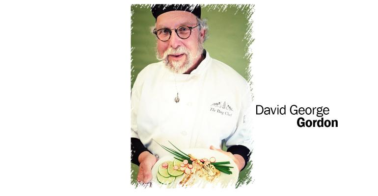 David George Gordon is a Seattle-based chef, restaurant consultant and author of the The Eat-a-Bug Cookbook