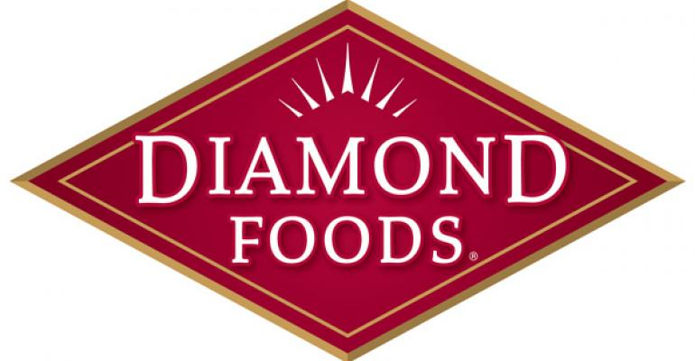 Snacks up, nuts down for Diamond Foods