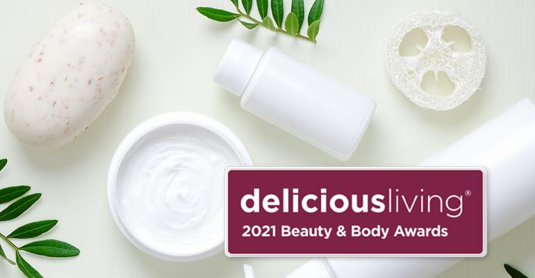 Delicious Living Beauty and Body Awards 2021