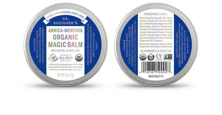 Dr Bronner magic balm