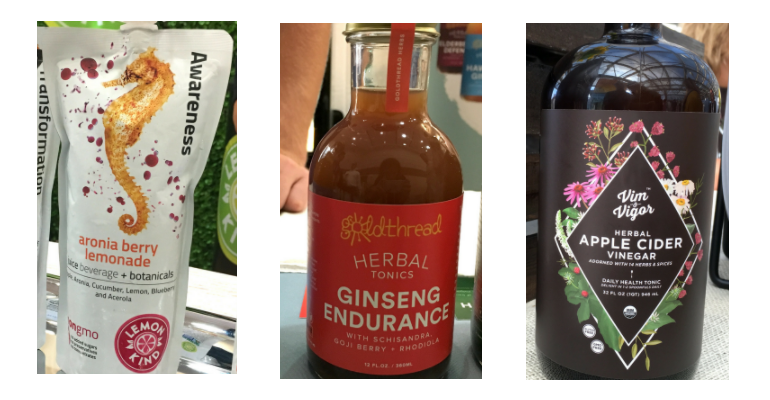 herb-infused functional beverages at Expo East 2017