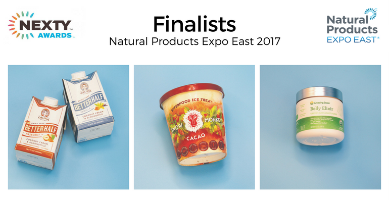 NEXTY Award finalists Expo East 2017