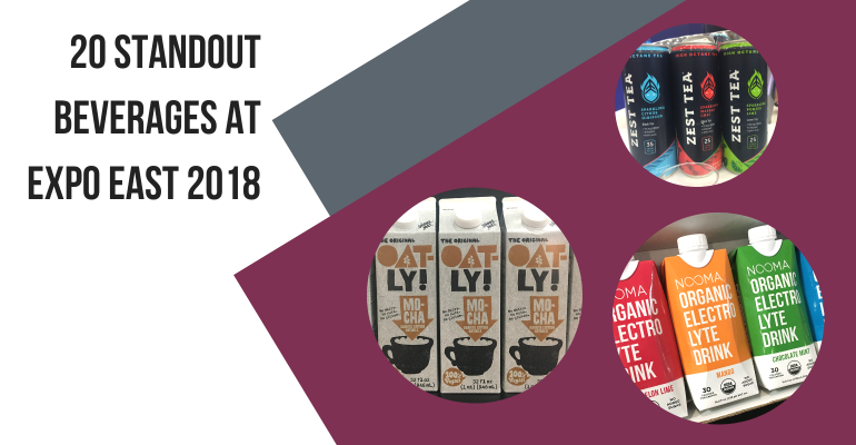 Expo East 2018 beverages
