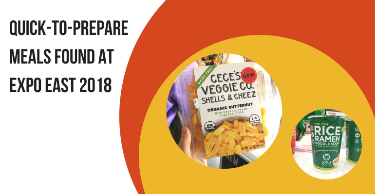 Promo image for convenience meal gallery from Expo East 2018