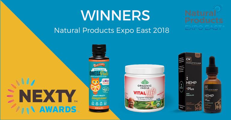 NEXTY Award winners Expo East 2018
