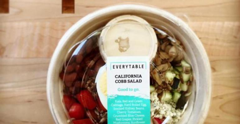 Everytable salad on table
