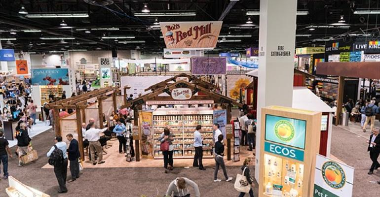 food and beverage at Natural Products Expo West