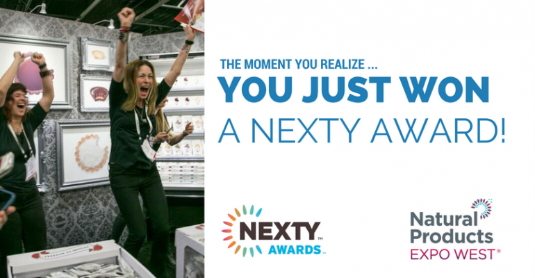 The moment you realize you just won a NEXTY Award