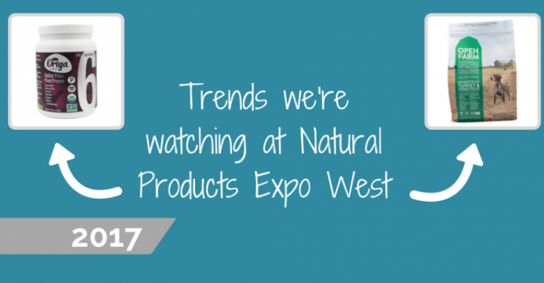 Natural Products Expo West 2017 trends