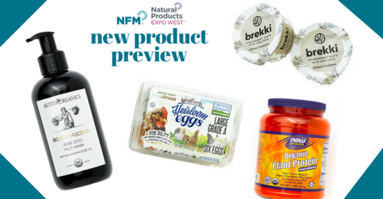 new products at Natural Products Expo West 2018