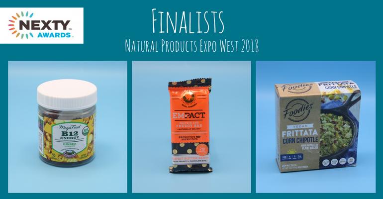 NExty Award finalists Expo West 2018