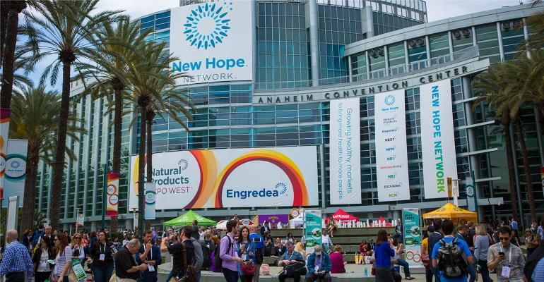 Expo West at Anaheim Convention Center, California