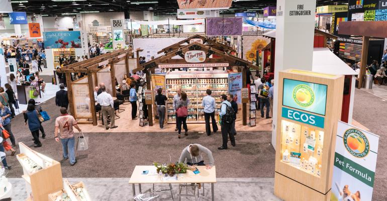 Natural Products Expo West show floor