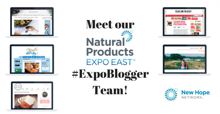Official bloggers for Natural Products Expo East